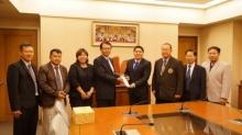 ผู้จัดการฝ่ายต่างประเทศ ม.ฟูกูอิ  เดินทางเยือน  ม. เอเชียอาคเนย์