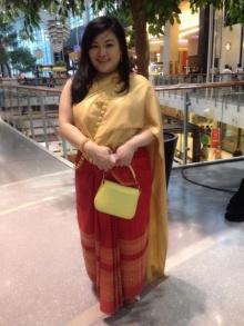 ใครว่าอ้วนแล้วใส่ชุดไทยไม่สวย!!! ขอนำเสนอความงามของชุดไทยแบบสาวอวบ!!