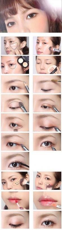 ดูซิ ! 9 แบบ Make up แนวใสๆ ได้ลุคสวย ฟรุ้งฟริ้ง!