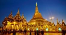 ชาวพม่ารวยขึ้นแห่บริจาคทองคำบูรณะชเวดากองกว่า 320 ล้านบาท