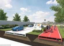 นวัตกรรมใหม่ ถนนพลาสติก เบา, ง่ายกับการวางท่อ แถมเป็นมิตรกับสิ่งแวดล้อม