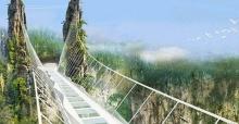 สะพานกระจกยาวที่สุดในโลกเปิดตัวตุลาฯนี้