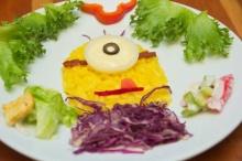 หลอกเด็กให้ทานผัก กับไอเดียสุดเจ๋ง แต่งจานผักเป็นตัวการ์ตูนในดวงใจ