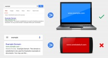 Google เตรียมเช็คบิล! เว็บไซต์โกง Link บนมือถือ