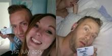 สุดซึ้ง!! หนุ่มคนนี้ซ่อนข้อความ ขอแต่งงาน ไว้ในรูปถ่ายทุกวัน นาน 5 เดือน