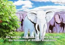 นิทานขาดกเรื่อง มาตุโปสกชาดก พญาช้างเผือกเลี้ยงแม่ตาบอด