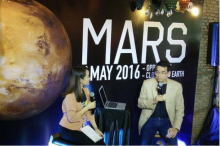 ชวนชม!!ดาวอังคารใกล้โลกมากที่สุดในรอบ 11 ปี 22 พ.ค.นี้