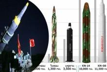 เจาะลึก ฮวาซอง-12  ขีปนาวุธรุ่นใหม่ของเกาหลีเหนือ