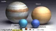 โลก ดวงอาทิตย์ VS ดาวยักษ์ที่สุดในจักรวาล