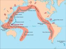 ประวัติการเกิดแผ่นดินไหวในมหาสมุทรอินเดีย