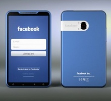 Blue Facebook Phone! สมาร์ทโฟนแบรนด์ FB
