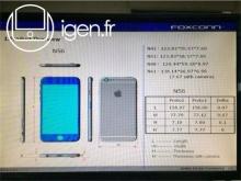 หลุดจากหน้าจอโรงงาน Foxconn เผยสัดส่วนเต็มๆของ iPhone 6 ทั้งรุ่น 4.7 นิ้วและ 5.5 นิ้ว