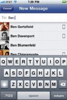 เฟซบุ๊คเจ๋ง ออกแอพฯสนทนาได้เหมือนบีบี ใช้ได้กับไอโฟน-เครื่องระบบแอนดรอยด์