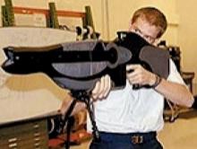 มะกันสร้างปืนเลเซอร์ยิงตา