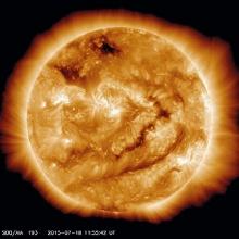 """นักคณิตฯชาวอังกฤษชี้ ดวงอาทิตย์อ่อนแรง อาจเกิด""""มิน ไอซ์เอจ"""" ในอีก15ปีข้างหน้า"""