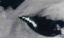 นาซ่าแชร์ภาพเมฆมุมสามเหลี่ยม ปรากฏการณ์ที่หาดูไม่ง่าย!!