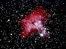 กาแลกซีหัวขโมยแย่งก๊าซเพื่อนบ้านสร้างดาวใหม่