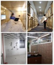 จีนผุด 'โรงแรมแคปซูล' แห่งแรกที่เซี่ยงไฮ้