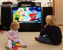 เด็กดูทีวีมากพัฒนาช้า!