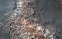 นาซาเผยภาพแอ่งน้ำบนดาวอังคาร