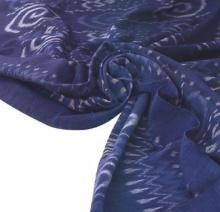 ผ้าฝ้ายสีช่วยป้องกันรังสีอันตรายของแดด สีน้ำเงินเข้มกันดีที่สุด