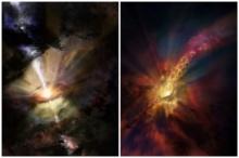 นักดาราศาสตร์อึ้ง!! พบฝนตกลงในหลุมดำครั้งแรก!