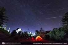 บรรยากาศ ปชช.แห่กางเต้นท์ดูฝนดาวตก200ดวงบนยอดดอยอิน