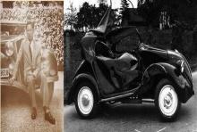 เผยชัดๆ ภาพ ราชรถ ที่ประสบอุบัติเหตุ จนทรงสูญเสียพระเนตรข้างขวา
