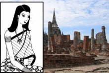 เจ้าฟ้าพินทวดี เจ้านายราชวงศ์บ้านพลูหลวงพระองค์เดียวที่ยังทรงอยู่ไทยหลังกรุงแตก