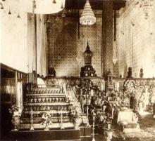 """""""พระที่นั่งดุสิตมหาปราสาท"""" สถานที่ประดิษฐานพระบรมศพมหากษัตราธิราชแห่งราชจักรีวงศ์"""