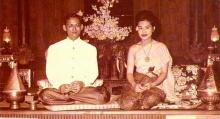 ภาพหาชมยาก! ในพระราชพิธีราชาภิเษกสมรส ในหลวง และ พระราชินี