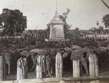 ภาพในอดีต เสาตะลุง เพนียดคล้องช้าง