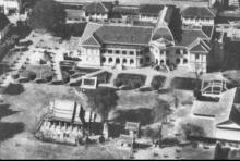 ภาพหายาก ระเบิดลงในพระบรมมหาราชวัง สมัยสงครามโลกครั้งที่2