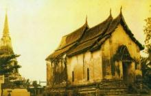 """พระพุทธรูป ที่ สร้างคร่อม """"ไม้กางเขน"""" โบราณของชาวคริสต์"""